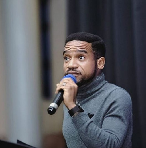 Movie director Pascal Amanfo