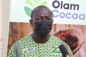 Eric Asare Botwe, Business Head, Olam Cocoa Ghana