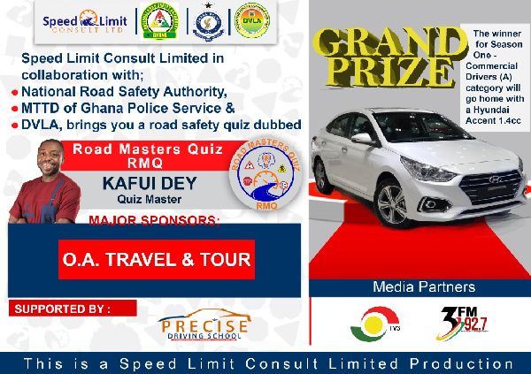Speed Limit Consult partners NRSA, DVLA to launch Road Masters Quiz