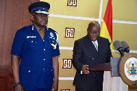 The IGP, David Apeatu has recently been granted two years extension of service