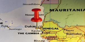 Map On Senegal