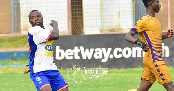 'Retired' Godwin Attram makes brief return to action in FA Cup