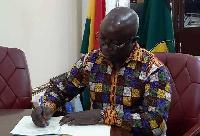 Chairman of GPRTU, Nana Nimako Bresiamah