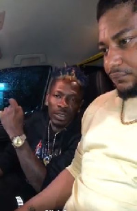 Shatta Wale happy about surprising Captan with a car gift