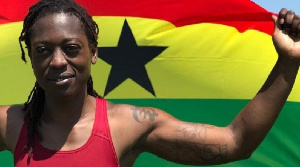 Dr Ornella Sathoud, Ghana's female boxer