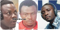 Alistair Nelson, Godwin Ako Gunn and Salifu Maase