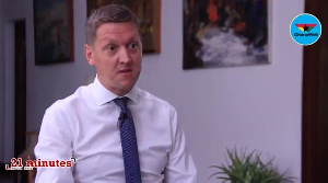 British High Commissioner to Ghana, Iain Walker was on '21 minutes with KKB'
