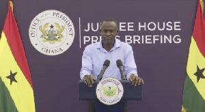 Eugene Arhin Director Of Comms Jubilee House