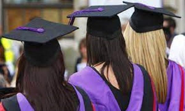 File photo :University graduates