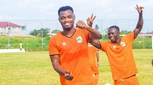 Asante Kotoko Midfielder, Emmanuel Keyekeh Gh