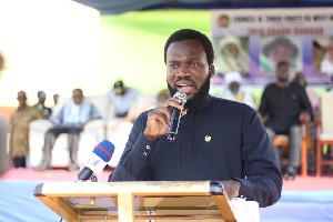 Dr Donald Senanu Agumenu  aspiring Parliamentary Candidate for Akatsi North