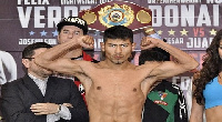 Cesar Juarez very determined to stop the 'Royal Storm'