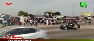 The incident occured around the Achimota Old Station