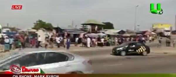 Man shot in daylight robbery at Achimota