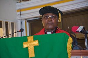 Right. Rev. Dr. Lt. Col. Bliss Divine Agbeko (RTD), E. P. Church moderator