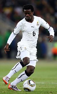 Ghana midfielder Anthony Annan