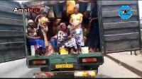 The truck was enroute to Walewale in the Northern Region