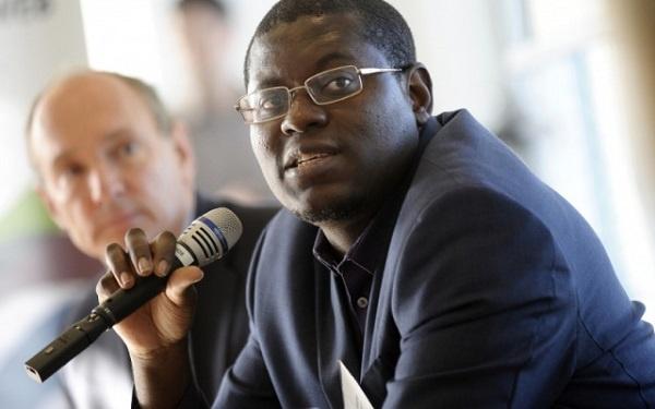 Bright Simons,Honourary Vice President of IMANI Ghana