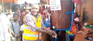 Kwasi Bonzoh, DCE for the Ellembelle District in the Western Region
