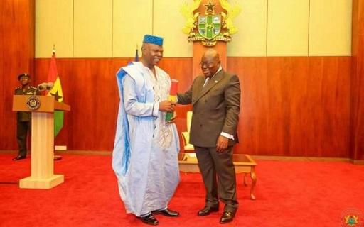 Dr Edward Mahama appointed Ambassador-at-large