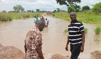 The minister, lamented about the security implications of the bad road network of the Daboya-Mankari