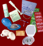 File photo of different family planning materials