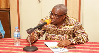 Peter Mac manu, Board Chairman of Ghana Ports and Harbours Authority
