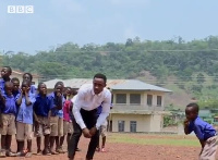 Sackey Percy's special way of involving his students is through dancing
