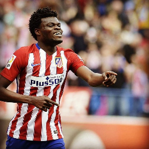 Partey played the entire duration of the game