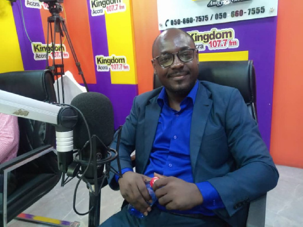 GFA spokesperson job more difficult than I expected - Henry Asante