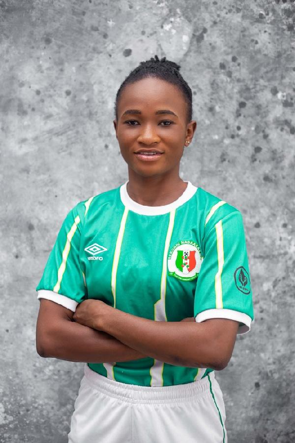 Hasaacas Ladies sign NWL top scorer Jafaru Rahama