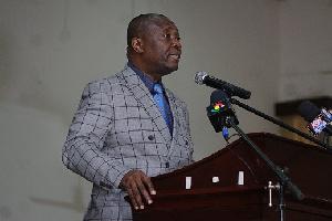 Professor George K.T Oduro, Pro-Vice Chancellor of University of Cape Coast