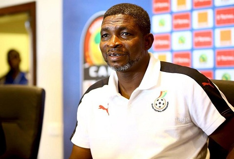 Black Stars B head coach Maxwell Konadu
