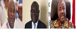 Carlos Ahenkorah, Vncent Sowah Odotei and Agyenim Boateng Adjei