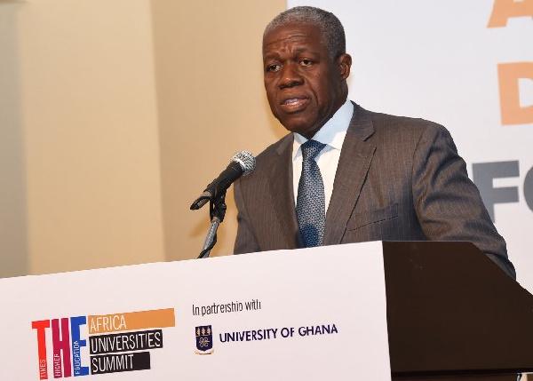 Former Vice-President, Kwesi Amissah-Arthur