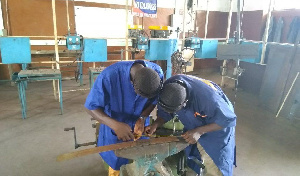 A welding and fabrication shop