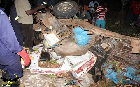One person killed in a fatal accident in Lower Manya Krobo
