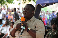 Greater Accra Regional Minister, Nii Laryea Afotey Agbo