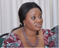 Chair of the Electoral Commission, Mrs Charlotte Osei