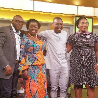 L-R: Patrice Amegashie, Hon. Elizabeth Ofosu-Agyare, Abeiku Santana and Kokui Selormey