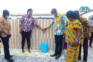 She believed strongly that what she has done will help address the water challenges of the school