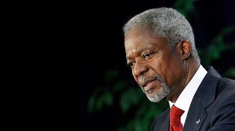 Kofi Annan died aged 80 after a short illness in Switzerland