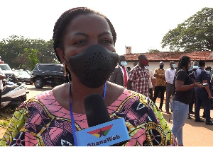Member of Parliament for Ayawaso West Wuogon Constituency, Madam Lydia Seyram Alhassan