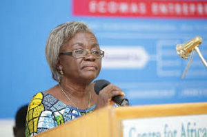 Professor Florence Abena Dolphyne, first female Pro-Vice-Chancellor of the University of Ghana