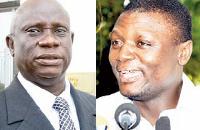 Nana Obiri Boahen (L) and Kofi Adams (R)
