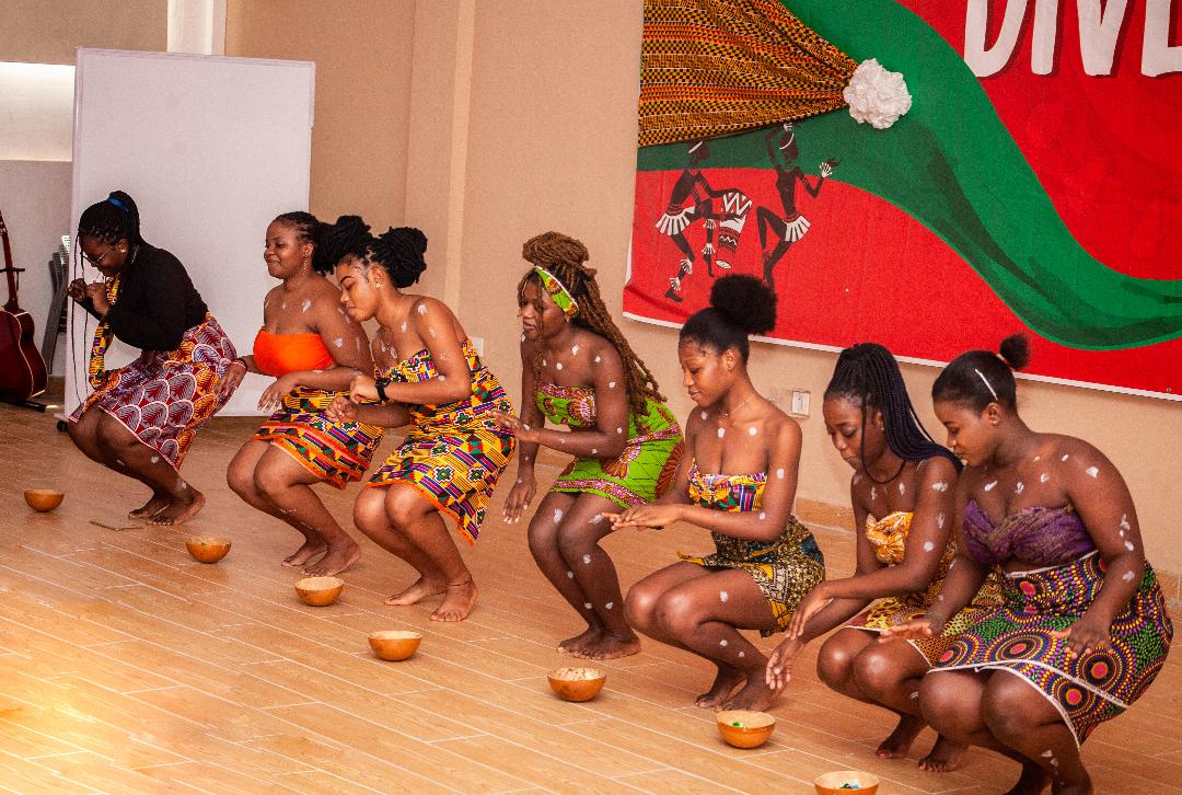 An image of a cultural performance during the programme
