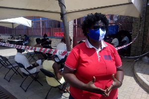 NCCE is urging Ghanaians to dispose masks safely