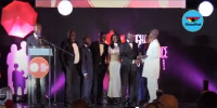CEO of Best Insurance Company receiving the Award