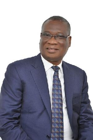 Dr KK Sarpong, Chief Executive Officer of the Ghana National Petroleum Corporation