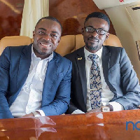 Sammy Flex and Nana Appiah Mensah